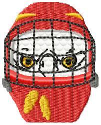Eagle Mask- small embroidery design