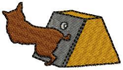 Dog Trick embroidery design