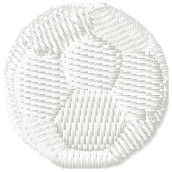Handball embroidery design