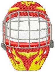 Hockey Mask 1 embroidery design