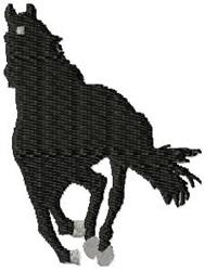 Running Stallion embroidery design