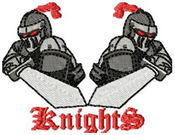 Knights 4 embroidery design