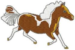 Miniature Horse embroidery design