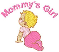 Mommys Girl 2 embroidery design