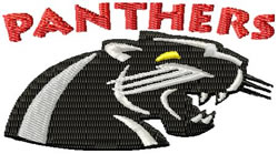 Panthers 2 embroidery design