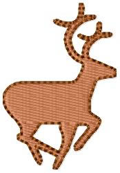 Stag Deer embroidery design