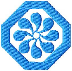 Tile 3 embroidery design
