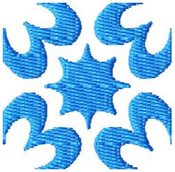 Tile 65 embroidery design