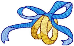 Wedding Rings 2 embroidery design