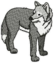 Wolf 2 embroidery design