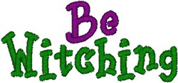 Bewitching embroidery design