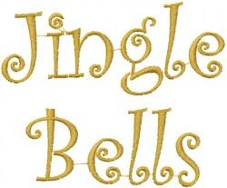 Jingle Bells embroidery design