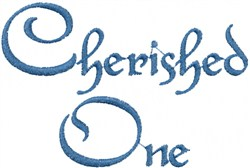 Cherished One embroidery design