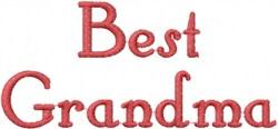 Best Grandma embroidery design