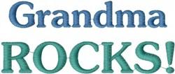 Grandma Rocks embroidery design