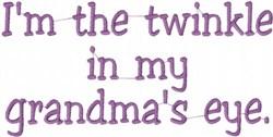 Grandmas Twinkle embroidery design