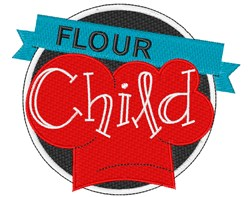Flour Child! embroidery design