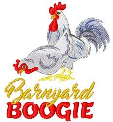 Barnyard Boogie Birds embroidery design