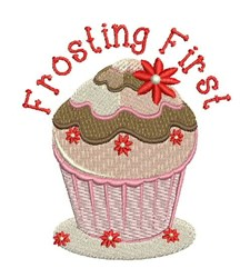Frosting First embroidery design