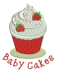 Baby Cakes embroidery design