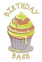 Birthday Bash embroidery design