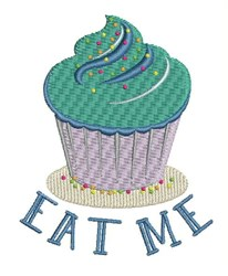 Eat Me embroidery design