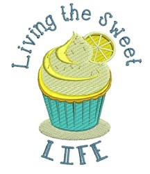 The Sweet Life embroidery design