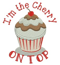 Cherry On Top embroidery design