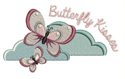 Butterfly Kisses embroidery design