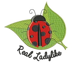 Real Ladylike embroidery design