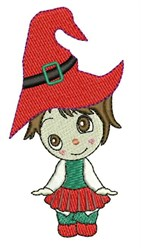 Girl Elf embroidery design