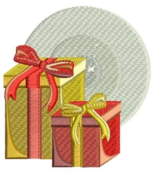 Christmas Presents embroidery design