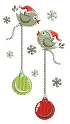 Ornament Birds embroidery design