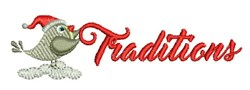 Traditions embroidery design
