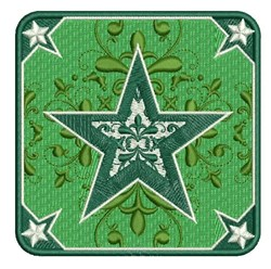 Xmas Star embroidery design