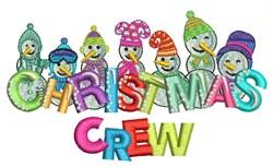 Christmas Crew embroidery design