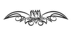Flower Bloom embroidery design