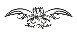Soul Mates embroidery design