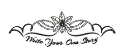 Write Your Story embroidery design