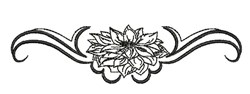 Floral Bloom embroidery design
