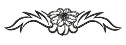Floral Decoration embroidery design