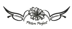 Picture Perfect embroidery design