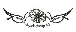 Angels Among Us embroidery design