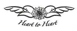 Heart To Heart embroidery design