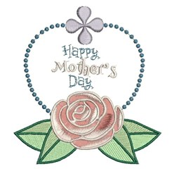 Happy Mothers Day embroidery design