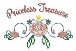 Priceless Treasure embroidery design