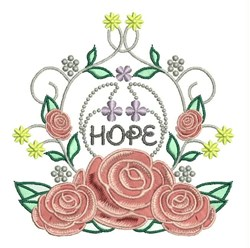 Hope Roses embroidery design