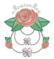 Rose Is A Rose embroidery design
