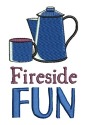 Fireside Fun embroidery design