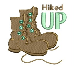 Hiked Up embroidery design